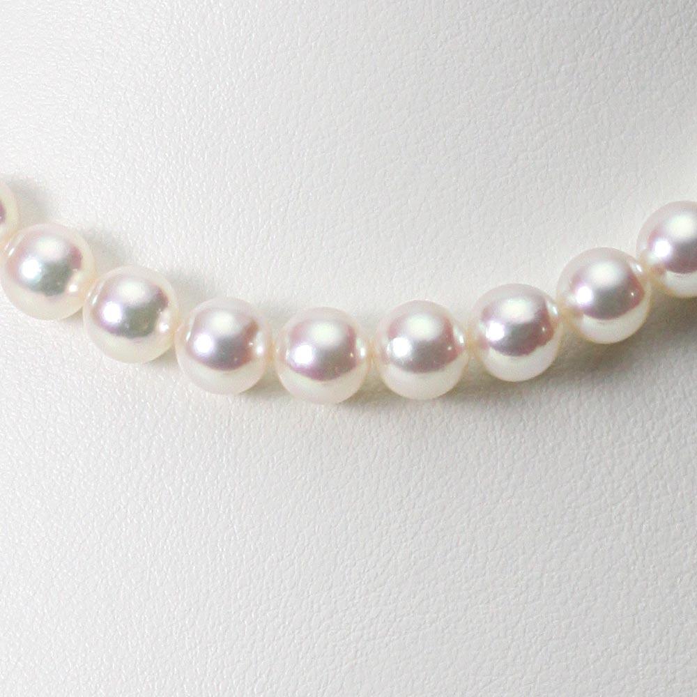 あこや真珠 パール ネックレス 8.0mm アコヤ 真珠 ネックレス レディース CA00080O53WPN00000