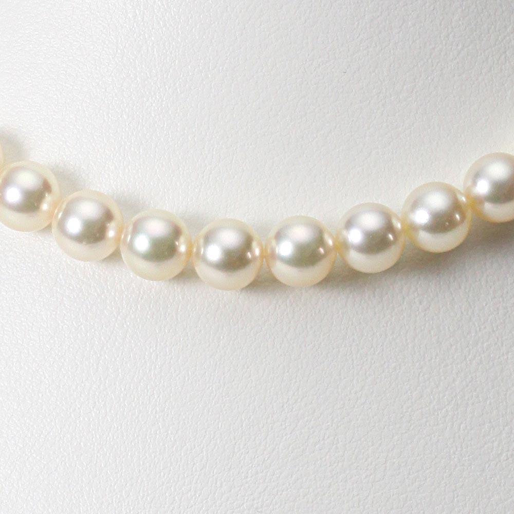 あこや真珠 パール ネックレス 8.0mm アコヤ 真珠 ネックレス レディース CA00080R13CG000000