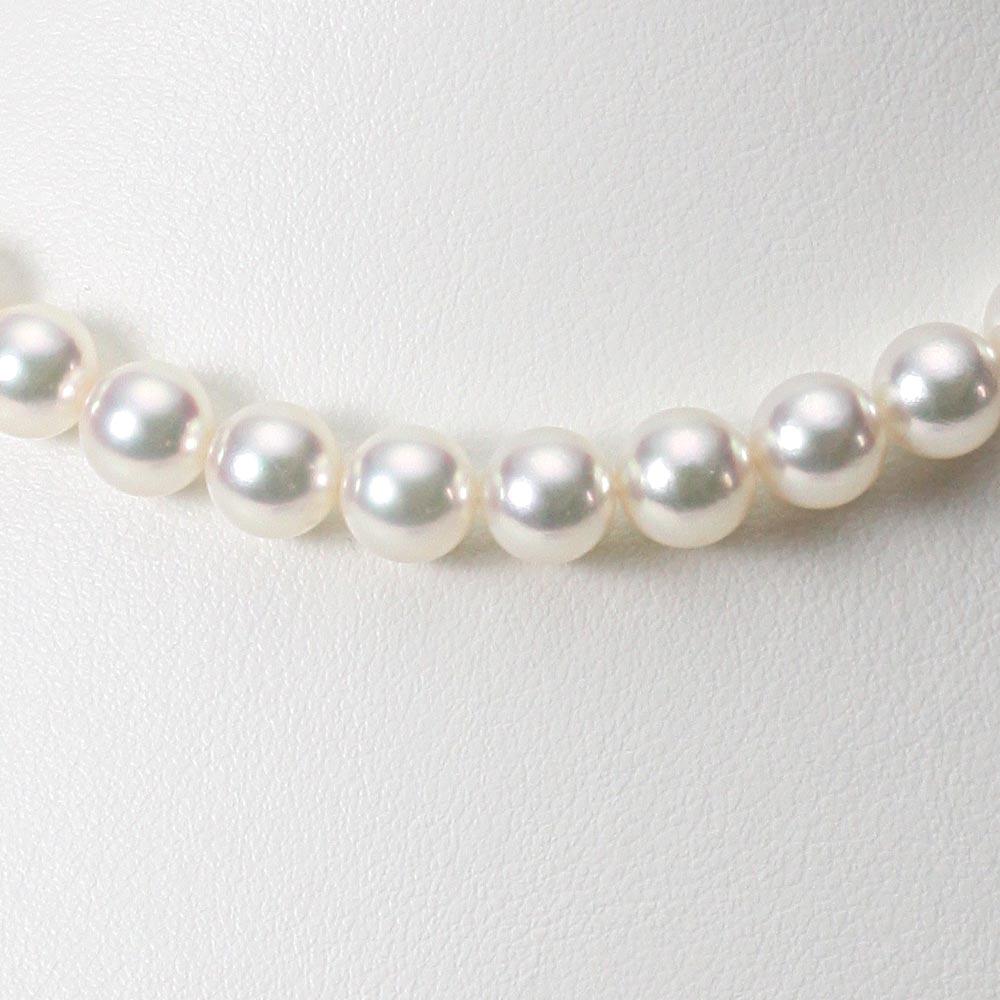 あこや真珠 パール ネックレス 8.0mm アコヤ 真珠 ネックレス レディース CA00080R22WPG00000