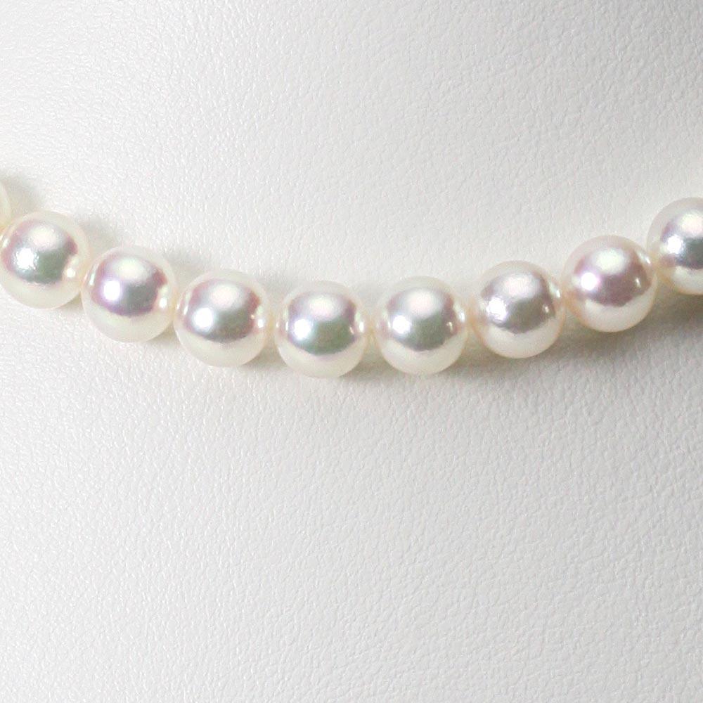 あこや真珠 パール ネックレス 8.0mm アコヤ 真珠 ネックレス レディース CA00080R31WPG00000