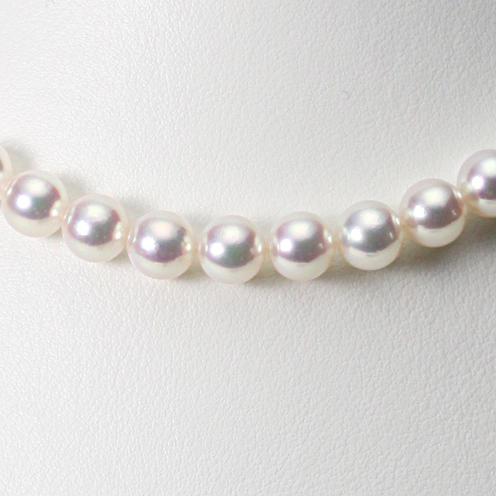 あこや真珠 パール ネックレス 8.0mm アコヤ 真珠 ネックレス レディース CA00080R31WPN00000