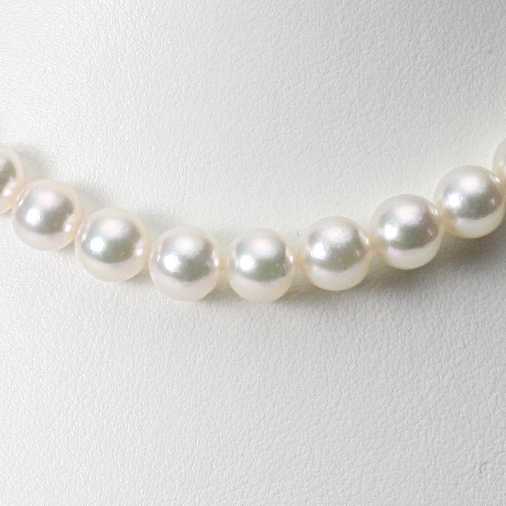 あこや真珠 パール ネックレス 8.5mm アコヤ 真珠 ネックレス レディース CA00085O53WPG00000