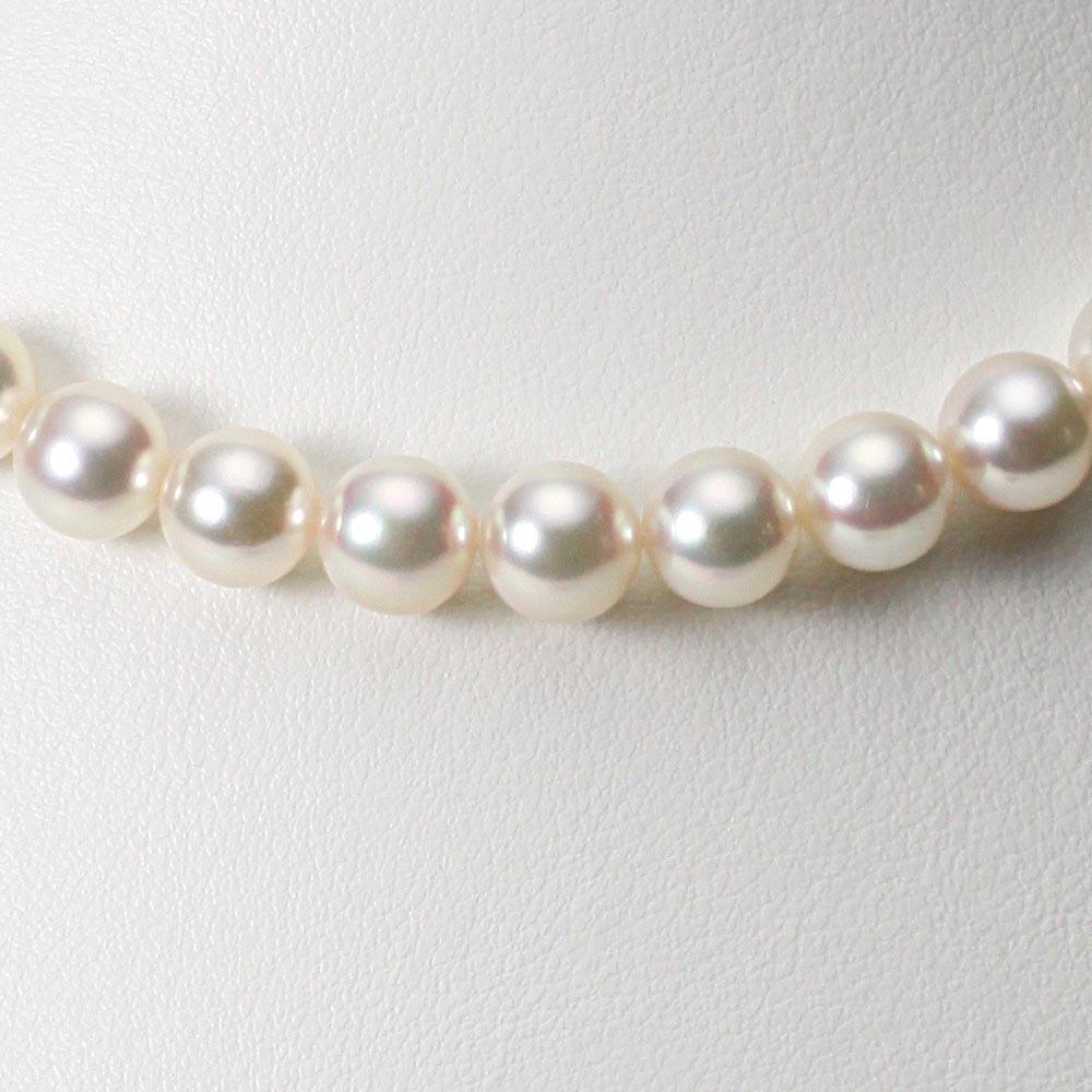 あこや真珠 パール ネックレス 8.5mm アコヤ 真珠 ネックレス レディース CA00085R12CW000000