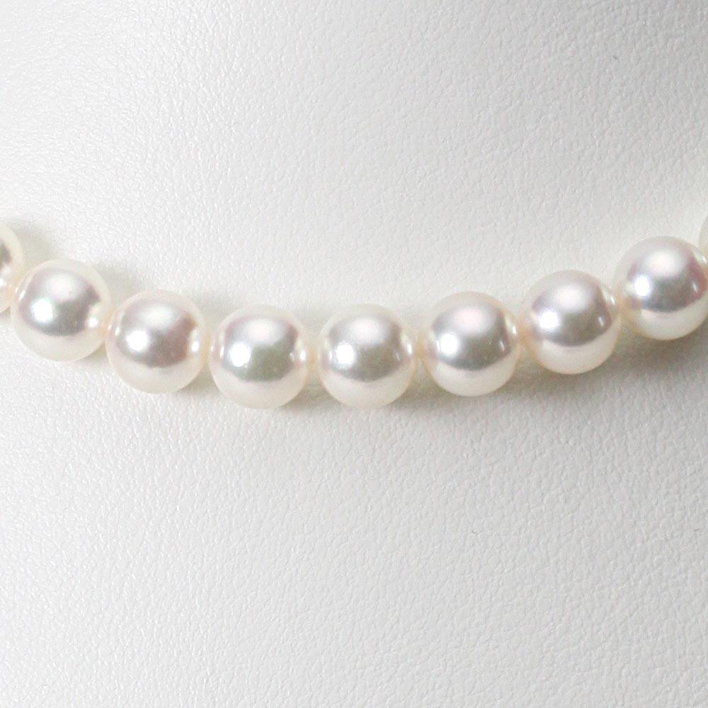 あこや真珠 パール ネックレス 8.5mm アコヤ 真珠 ネックレス レディース CA00085R23WPG00000
