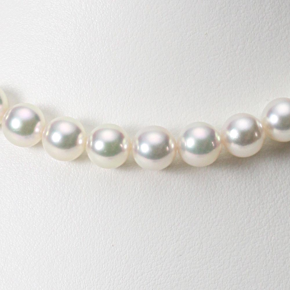 あこや真珠 パール ネックレス 9.0mm アコヤ 真珠 ネックレス レディース CA00090R12WPG00000