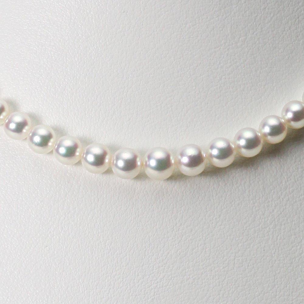 あこや真珠 パール ネックレス 3.5-6.5mm アコヤ 真珠 ネックレス レディース GA06535R11WPG00000