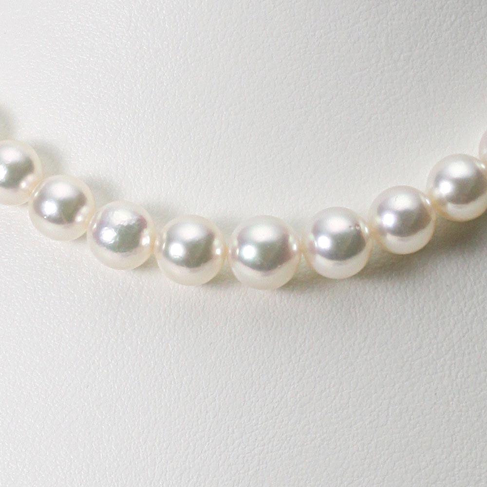あこや真珠 パール ネックレス 6.0-9.0mm アコヤ 真珠 ネックレス レディース GA09060R31WPG00000