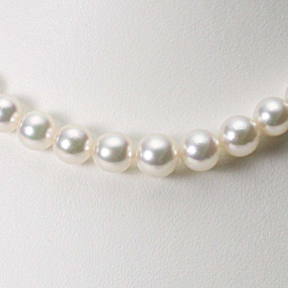 あこや真珠 パール ネックレス 6.0-9.0mm アコヤ 真珠 ネックレス レディース GA09060R32WPG00000