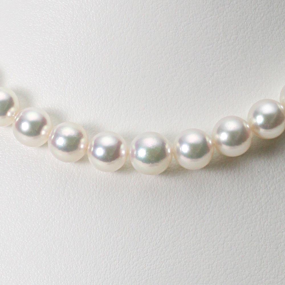 あこや真珠 パール ネックレス 7.0-9.0mm アコヤ 真珠 ネックレス レディース GA09070R21WPG00000