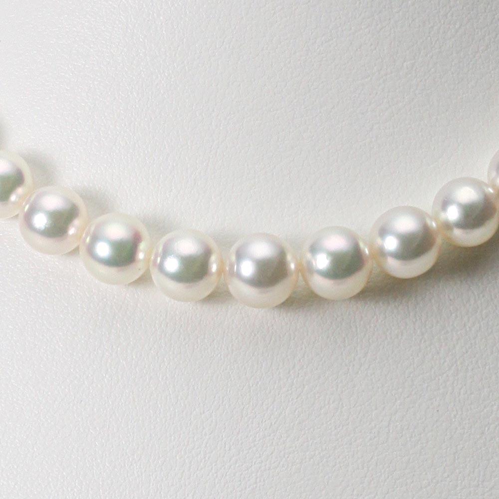 あこや真珠 パール ネックレス 7.0-9.0mm アコヤ 真珠 ネックレス レディース GA09070R22WPG00000