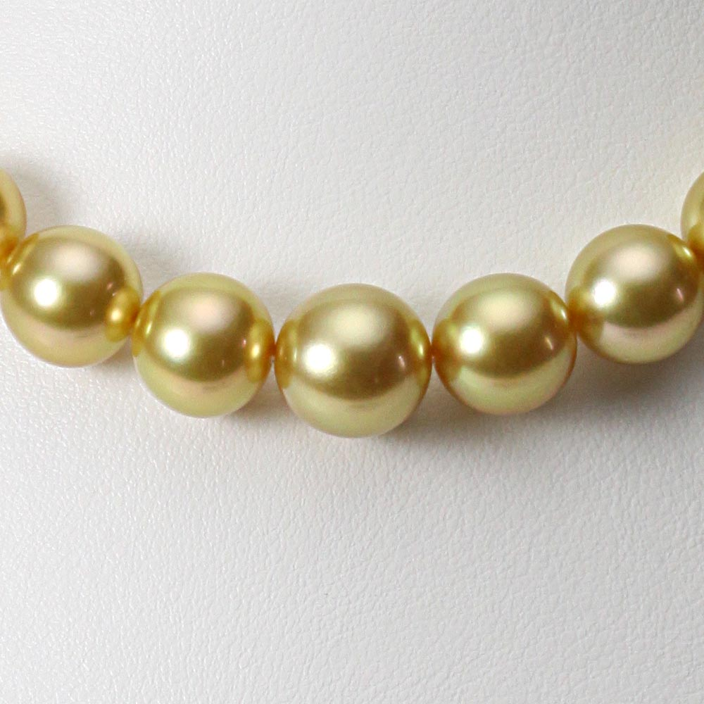 南洋真珠 パールネックレス 10-12mm 白蝶 真珠 ネックレス レディース GW01210O11NG000000