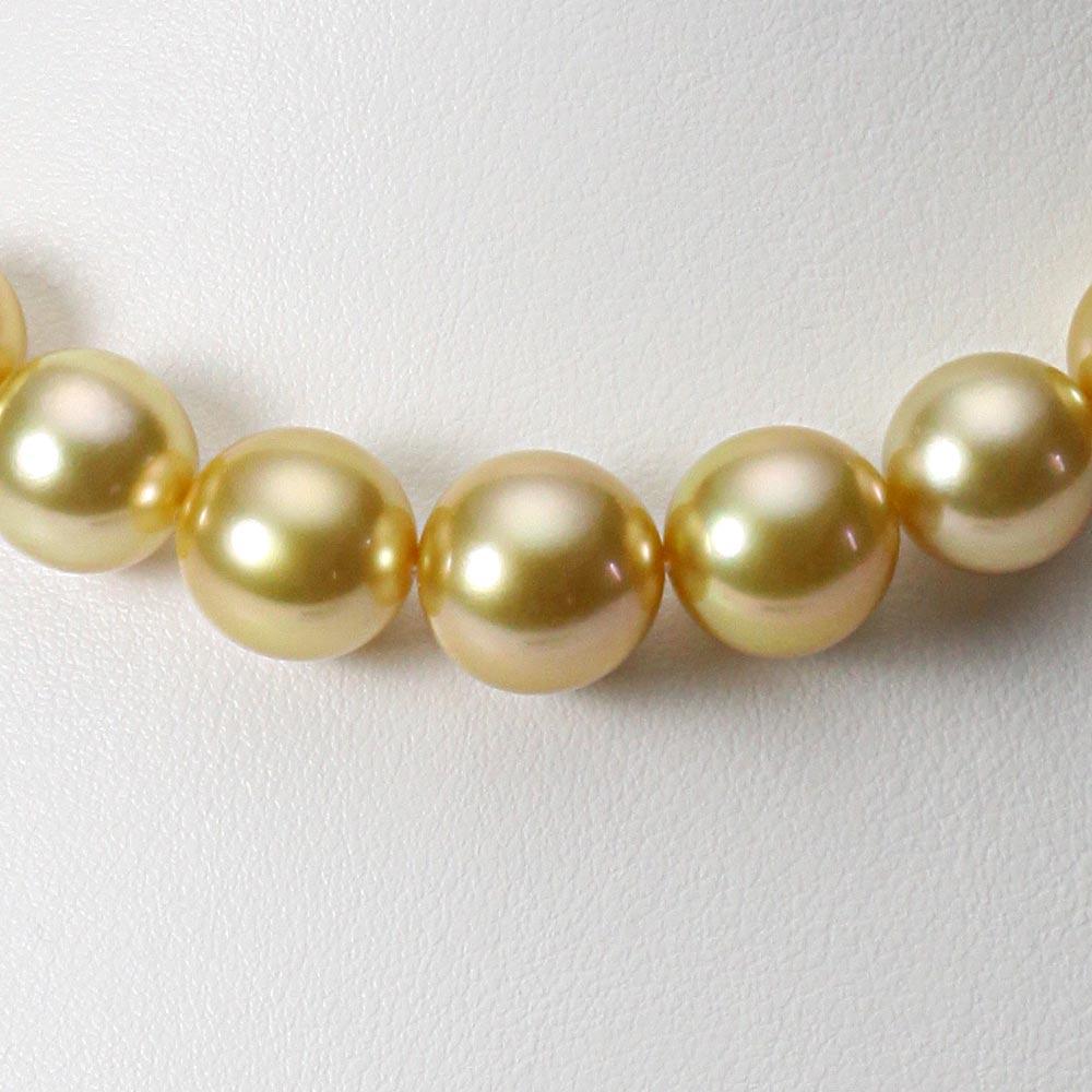 南洋真珠 パールネックレス 10-12mm 白蝶 真珠 ネックレス レディース GW01210O13NG000000