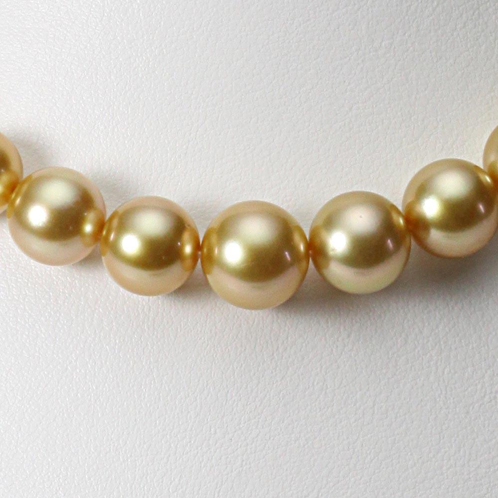 南洋真珠 パールネックレス 10-12mm 白蝶 真珠 ネックレス レディース GW01210R22NG000000