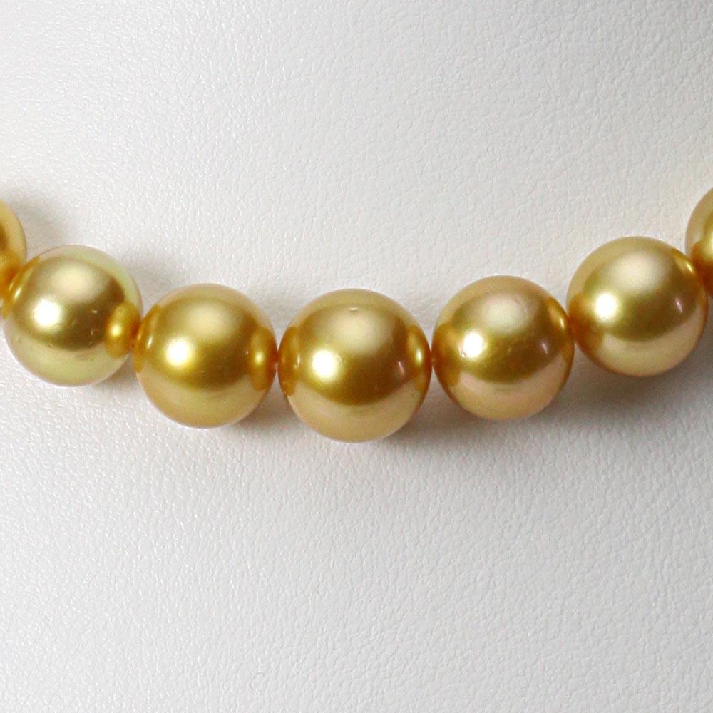 南洋真珠 パールネックレス 10-12mm 白蝶 真珠 ネックレス レディース GW01210R31NG000000