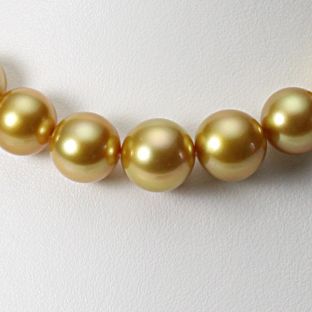 南洋真珠 パールネックレス 11-13mm 白蝶 真珠 ネックレス レディース GW01311O11NG000000