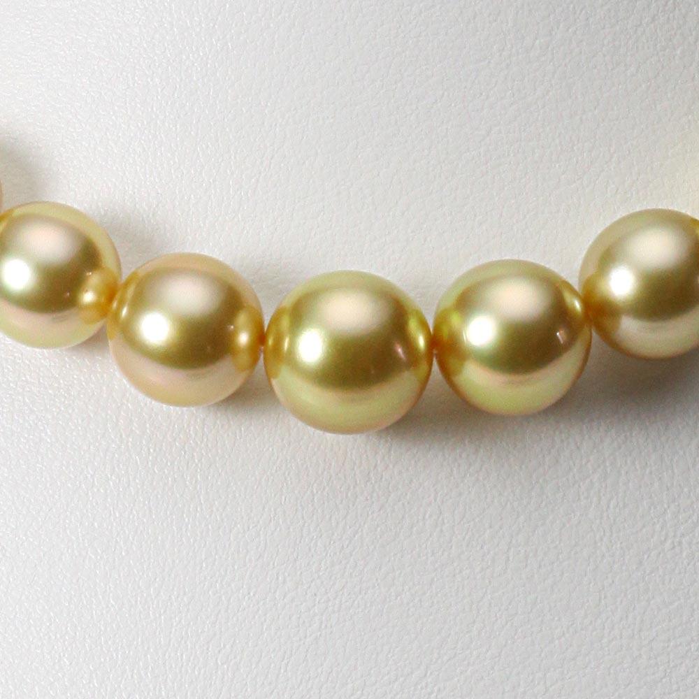 南洋真珠 パールネックレス 11-13mm 白蝶 真珠 ネックレス レディース GW01311O12NG000000