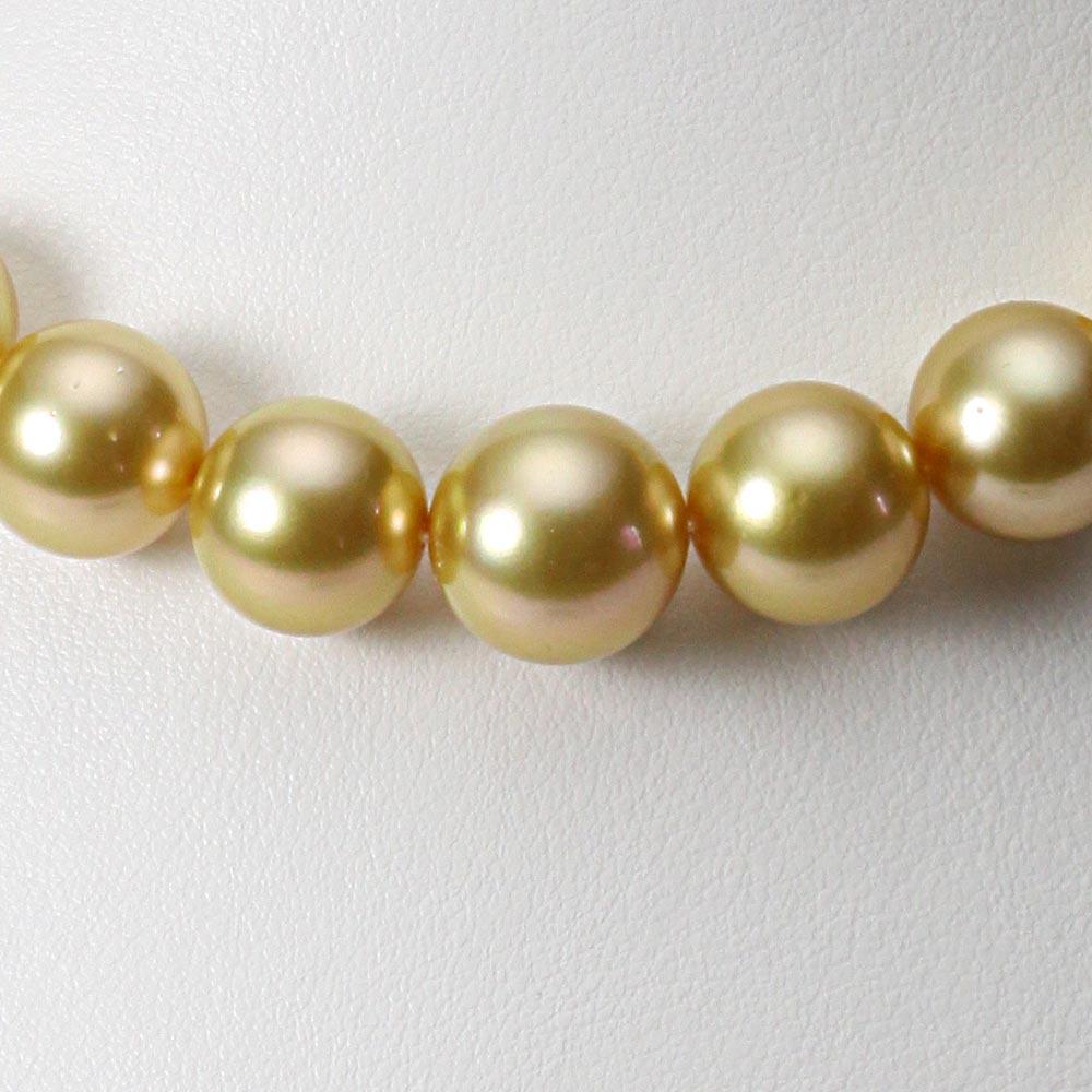 南洋真珠 パールネックレス 11-13mm 白蝶 真珠 ネックレス レディース GW01311R22NG000000