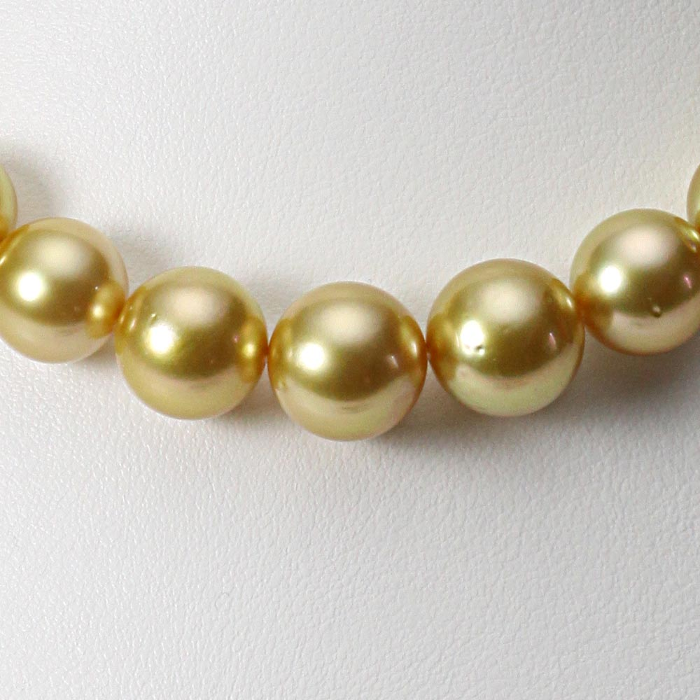 南洋真珠 パールネックレス 11-13mm 白蝶 真珠 ネックレス レディース GW01311R31NG000000