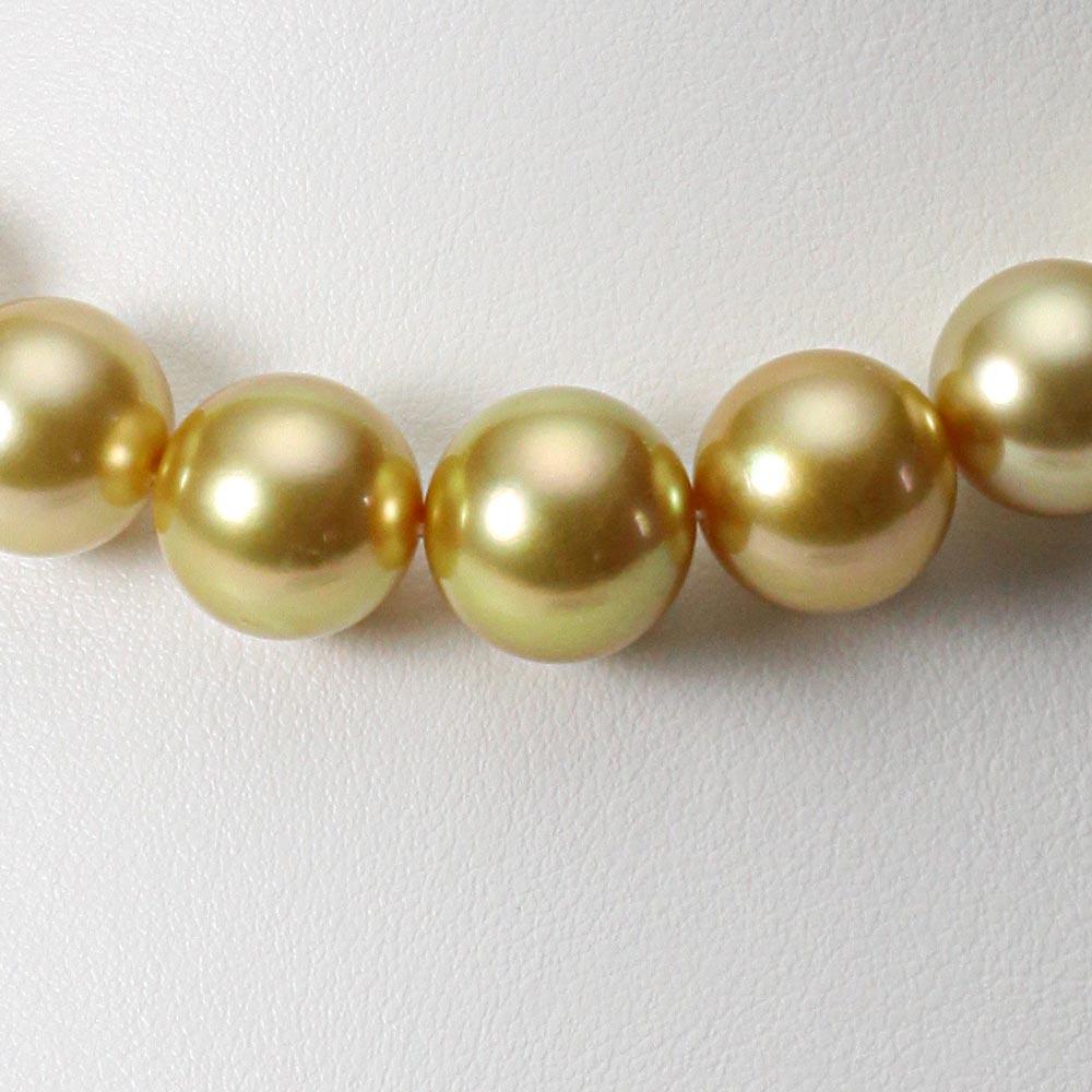 南洋真珠 パールネックレス 12-14mm 白蝶 真珠 ネックレス レディース GW01412R21NG000000