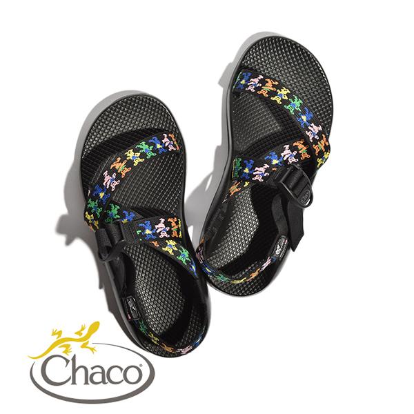 【20%OFFクーポン対象】チャコ サンダル メンズ グレイトフルデット ダンシングベアー Chaco W's Z1 Grateful Dead DANCING BEARS ビブラムソール MADE IN USA アメリカ製0