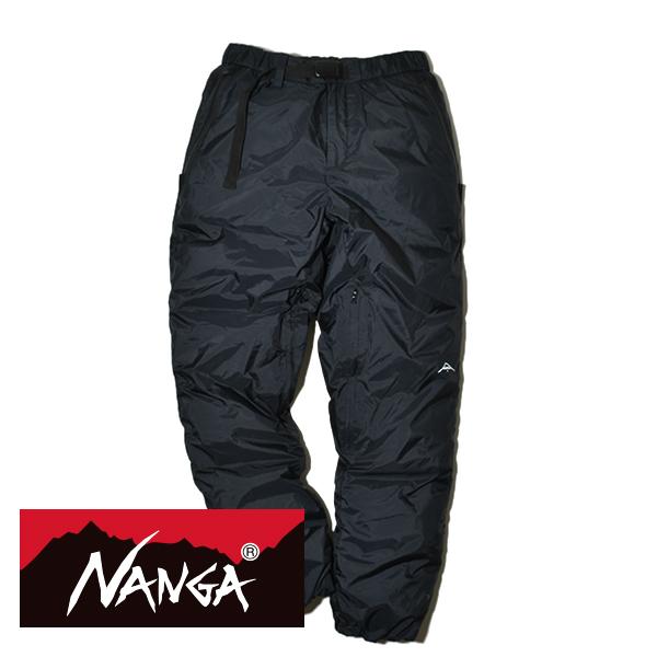 NANGA ナンガ オーロラダウンパンツ AURORA DOWN PANTS 760FP ヨーロピアンダックダウン 防水 透湿 防風 メンズ レディース