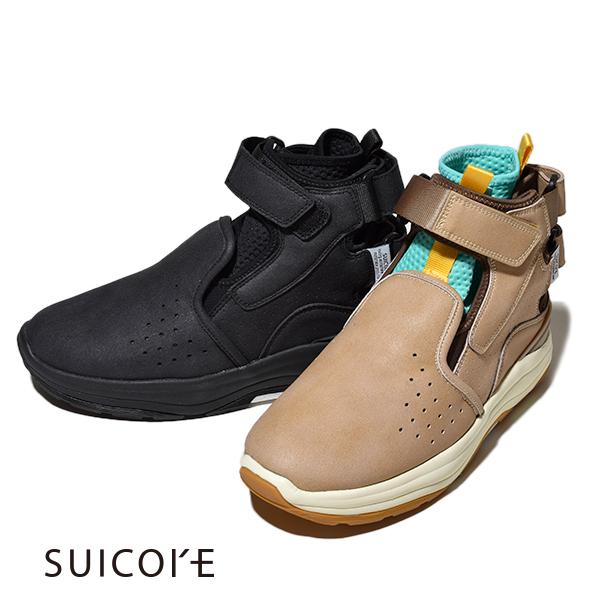 【20%OFFクーポン対象】スイコック 2020 新作 SUICOKE VIC スニーカーブーツ PUスエード フッドベッド