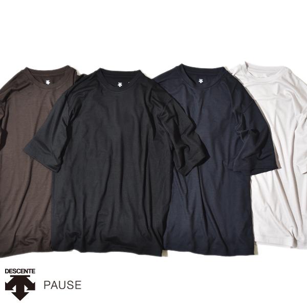 【20%OFFクーポン対象】デサント ポーズ メリノウール Tシャツ 半袖 S/S DESCENTE PAUSE MERINO WOOL S/S T-SHIRT 日本製