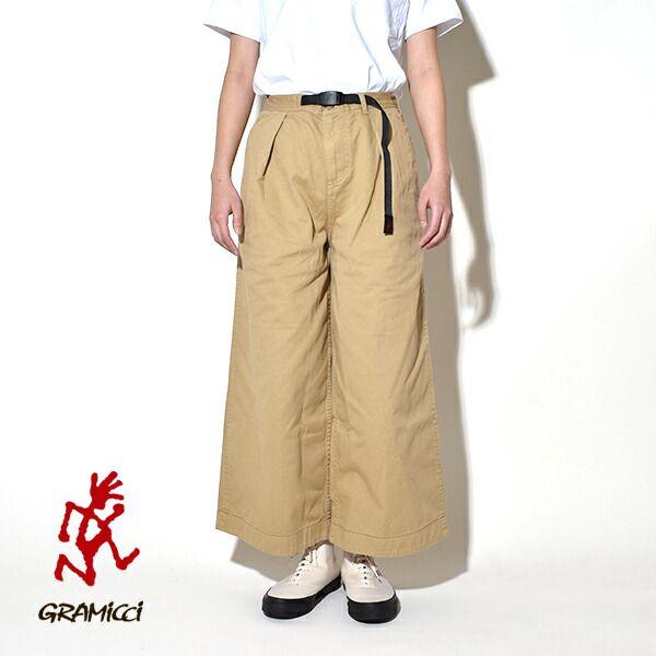 【20%OFFクーポン対象】グラミチ レディース バギーパンツ GRAMICCI BAGGY PANTS