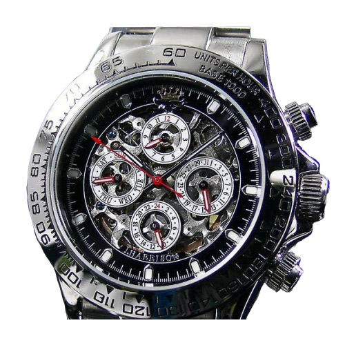 J.HARRISON/ジョンハリソン 自動巻き腕時計 JH-003SB /送料無料