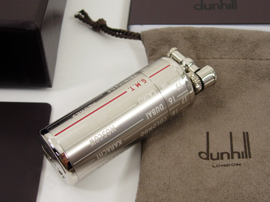 Dunhill gas lighter GMT ■ PL2302
