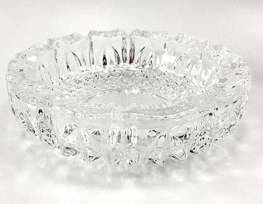 送料無料(北海道沖縄離島除く)卓上灰皿 日本製 ガラス製/トレド(中)P-05507-JAN 東洋佐々木ガラスx1個