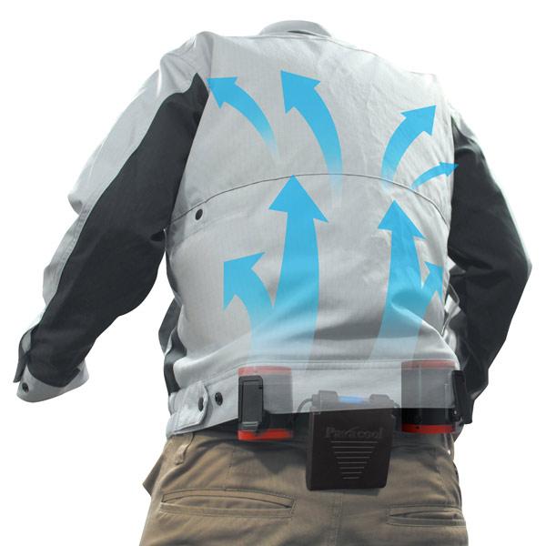 空調ツインファン ベルトに簡単装着 衣服を選ばない 熱中症対策商品 TF-1122x1台