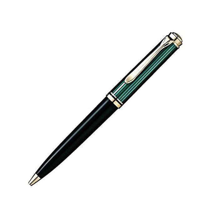 ペリカン ボールペン スーベレーン K800 緑縞グリーン 日本正規品/送料無料(北海道沖縄離島除く)