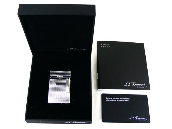 『送料無料』デュポン ダブルフレーム仕様 ライター LIGNE2 ダイヤカット #16184