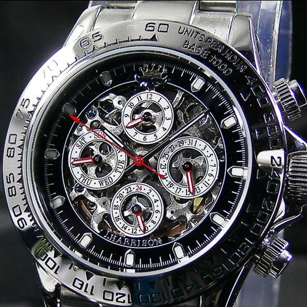 ジョンハリソン 自動巻き腕時計 JH-003SB /送料無料(北海道沖縄離島除く)