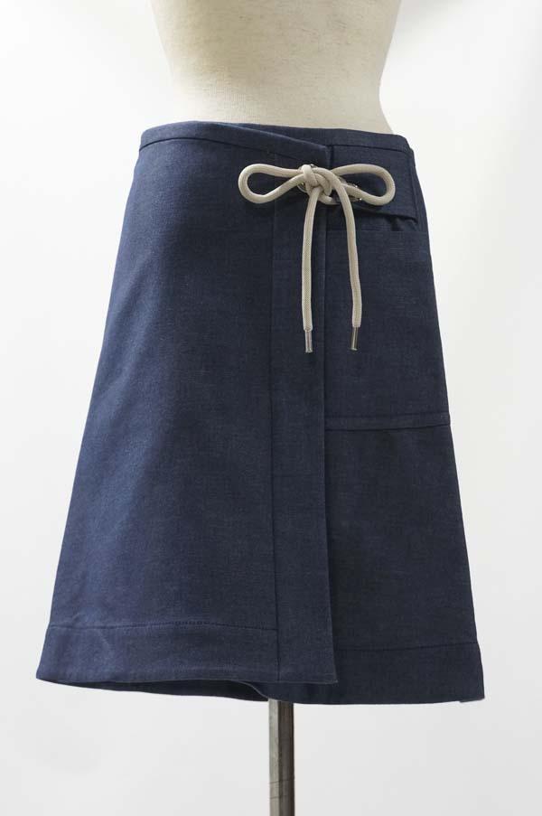 【入荷】MAXMARA WEEKENDスエットラップスカート[マックスマーラ]【42(L)size】