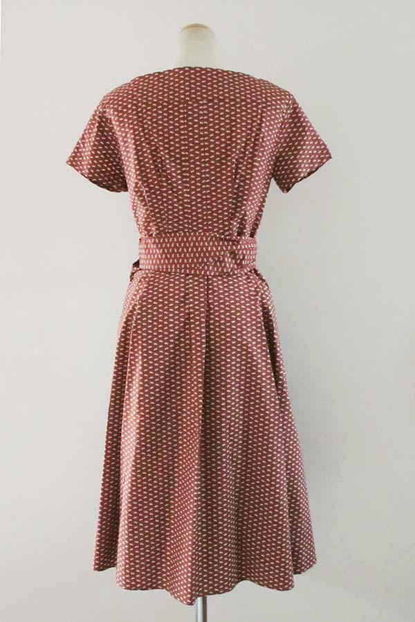 17d464b54e Cache-coeur print dress  Max Mara  with the MAXMARA WEEKEND ribbon