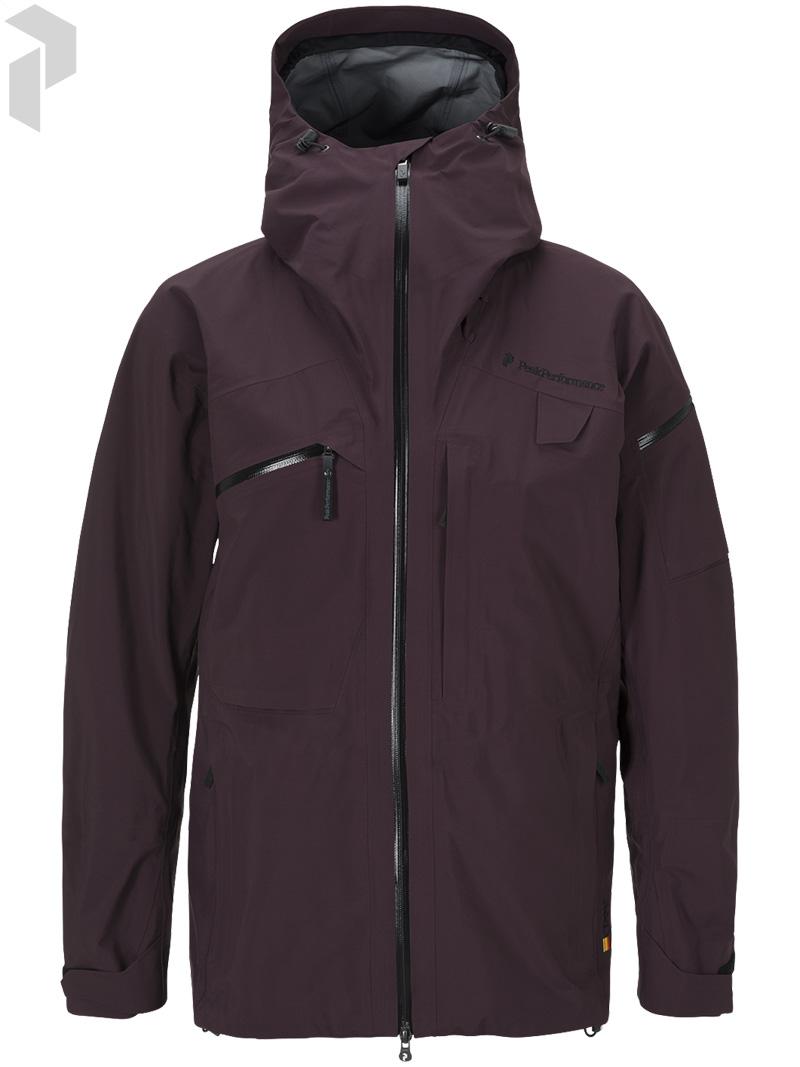 ピークパフォーマンス(PeakPerformance)ヘリアルパインジャケット(Heli Alpine Jacket)カラー:1T2 Mahogany