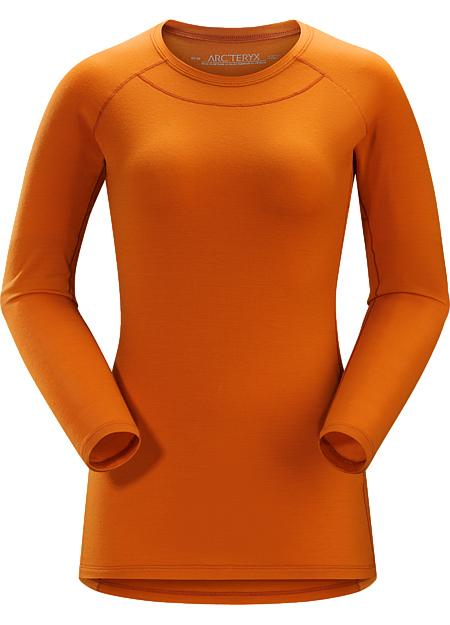 アークテリクス(ARC'TERYX)WOMEN'Sサトロ AR クルーネック LS シャツ カラー:Bengal