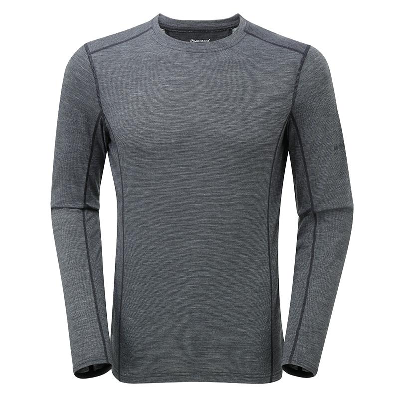 モンテイン(MONTANE)プリミノ140 L/S Tシャツ)カラー:ブラック