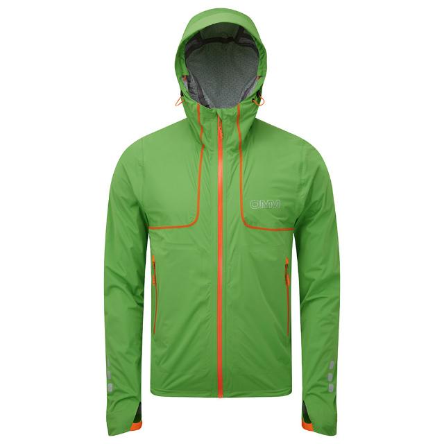オリジナルマウンテンマラソン(OMM)カムレイカジャケット(Kamleika Jacket)カラー:GREEN
