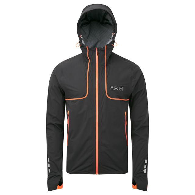 オリジナルマウンテンマラソン(OMM)カムレイカジャケット(Kamleika Jacket)カラー:BLACK