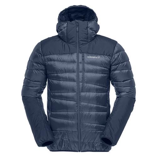 ノローナ(NORRONA)フォルケティンダウン750フードジャケット(falketind hood down750 down750 Night hood Jacket)カラー:Indigo Night, こっとんてーる:3b299560 --- officewill.xsrv.jp
