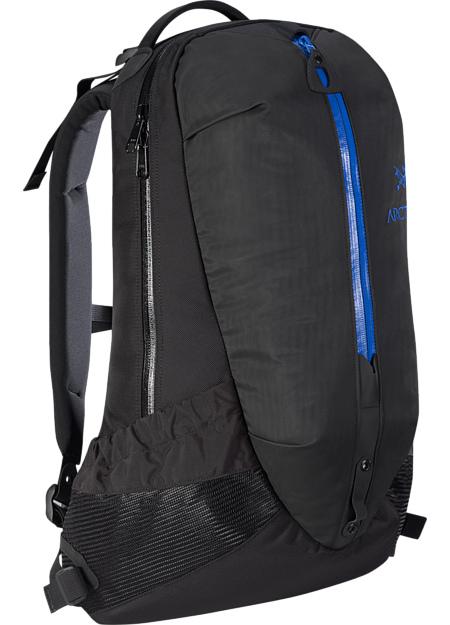 アークテリクス(ARC'TERYX)アロー 22 バックパック(arro-22-backpack)カラー:Black/Rigel