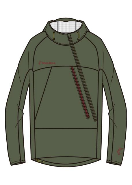 ティートンブロス(TetonBros.)ツルギライトジャケット(Tsurugi Lite Jacket)カラー:Brown