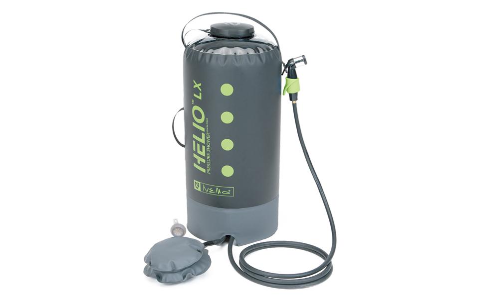 ニーモ(NEMO)ヘリオLXプレッシャーシャワー(HELIO™LX Pressure Shower)