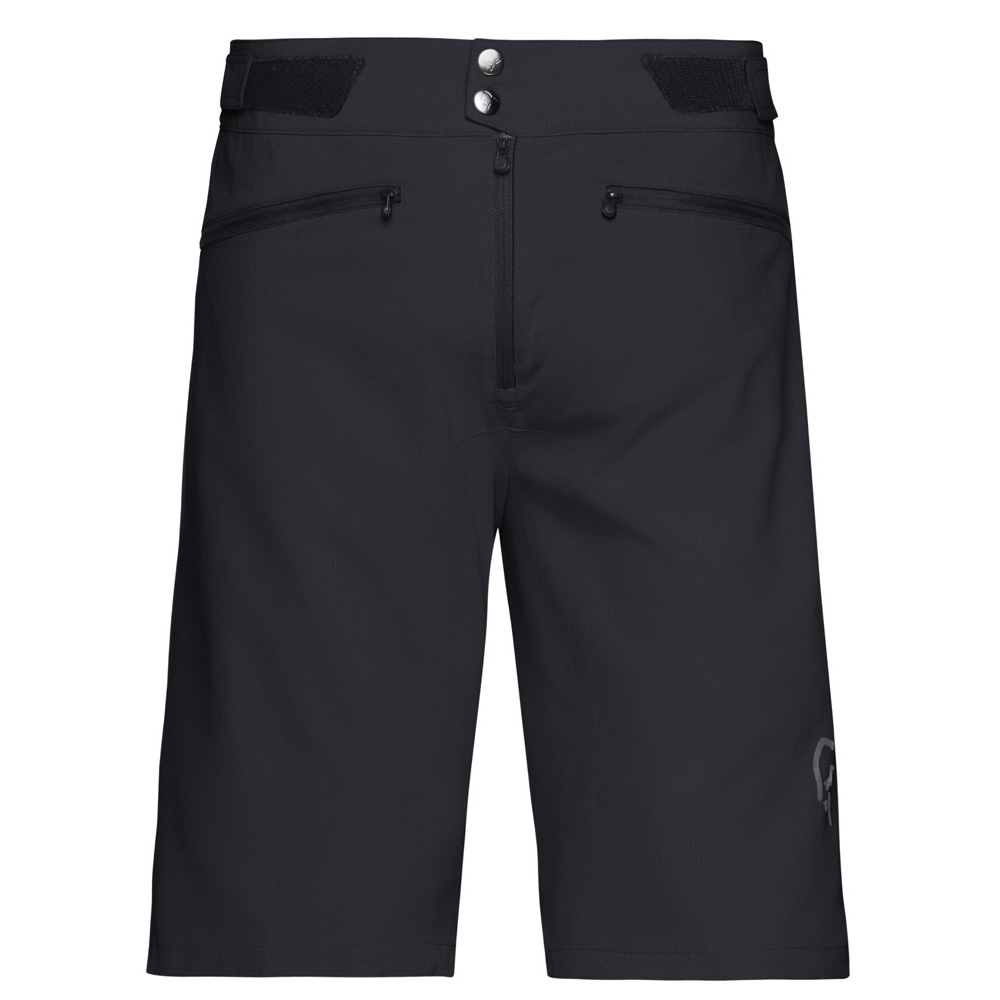 ノローナ(NORRONA)フィヨーロフレックス1ライトウェイトショーツ(fjørå flex1 lightweight Shorts)カラー:Caviar