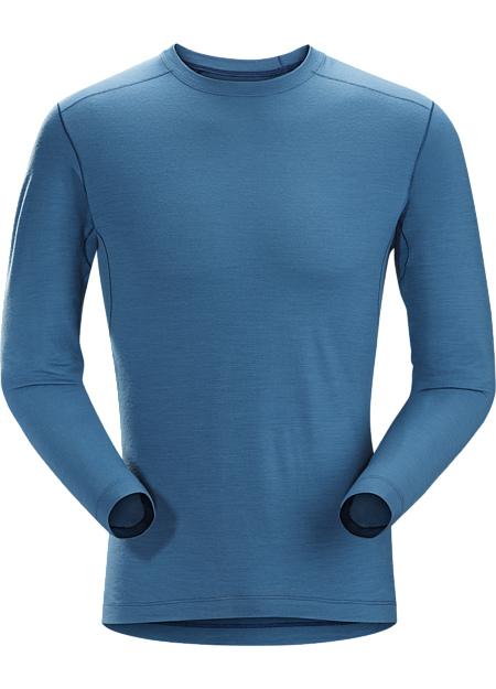 アークテリクス(ARC'TERYX)サトロ AR LS クルーネック シャツ(satoro-ar-crew-neck-shirt-ls)カラー:Light Hecate