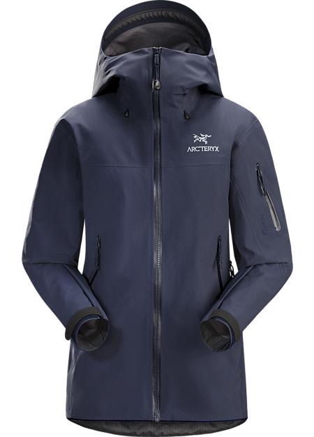 アークテリクス(ARC'TERYX)ウィメンズベータSVジャケット(ws beta-sv-jacket)カラー:Black Sapphire II