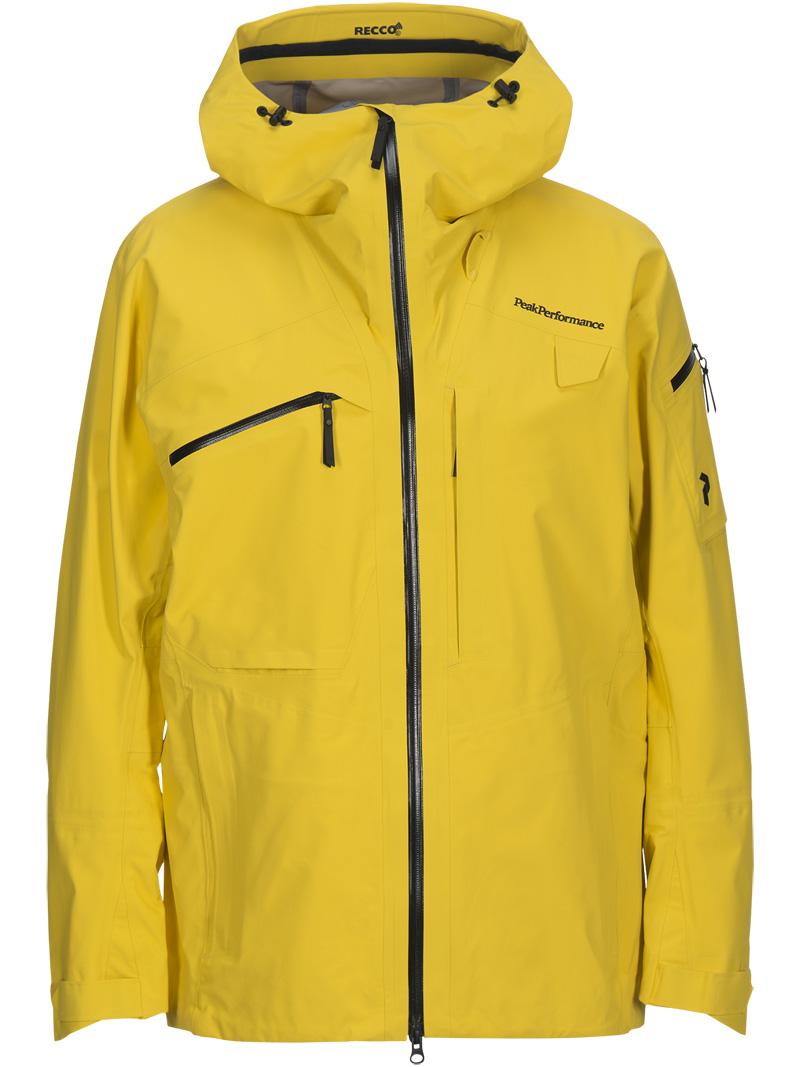 ピークパフォーマンス(PeakPerformance)アルパインジャケット(Alpine Jacket)カラー:75J Desert Yellow